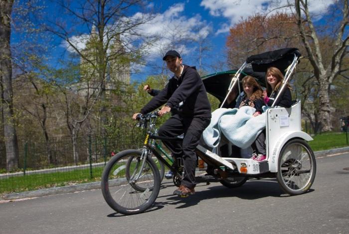 Велорикша в Централ парке
