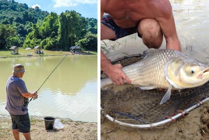 Озерная рыбалка на Пхукете