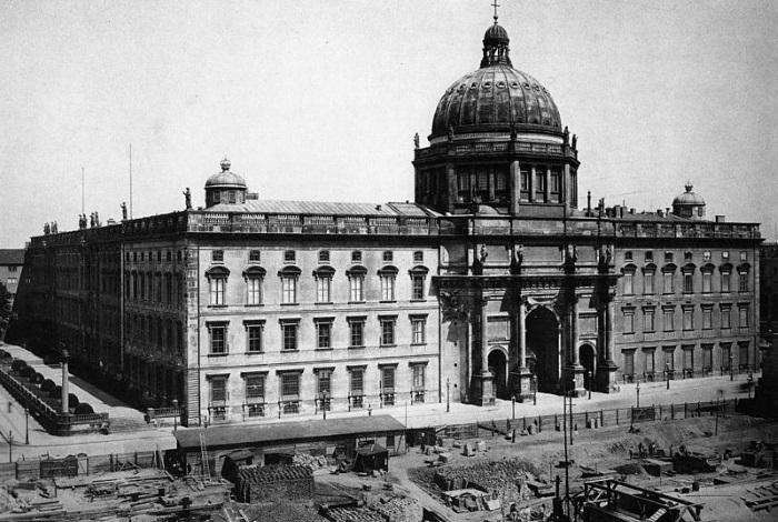 Строительство дворца