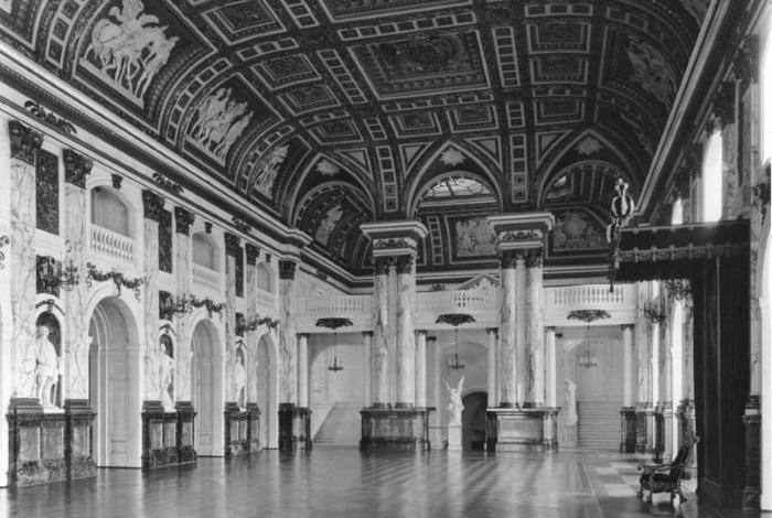 Белый зал до войны