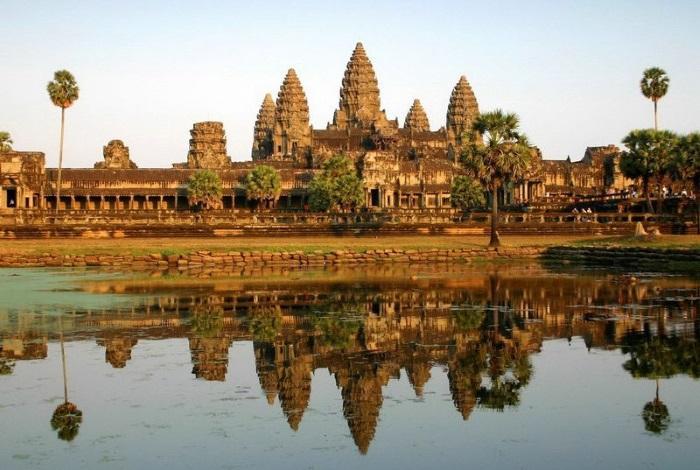 Город-храм в Камбоджа