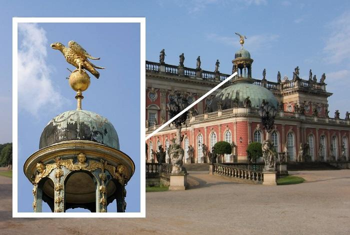 Меньший купол дворца