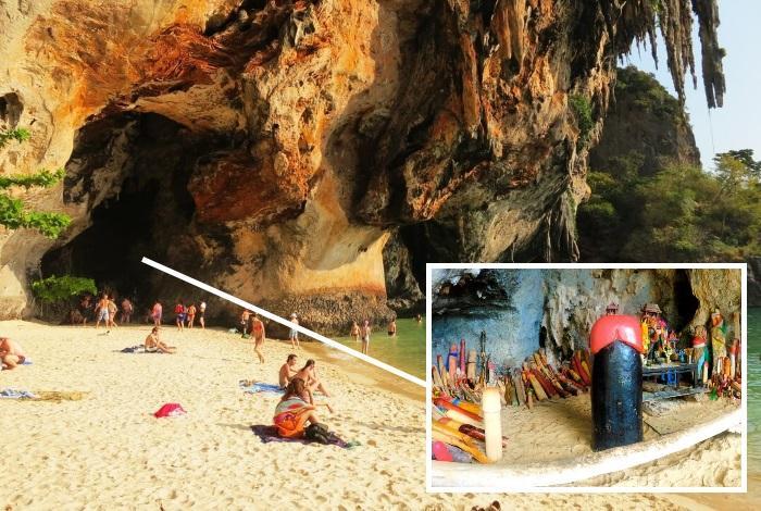 Пещера фаллосов в Краби