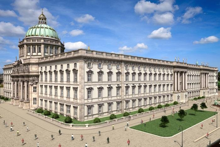 Городской дворец после ожидаемой реконструкции