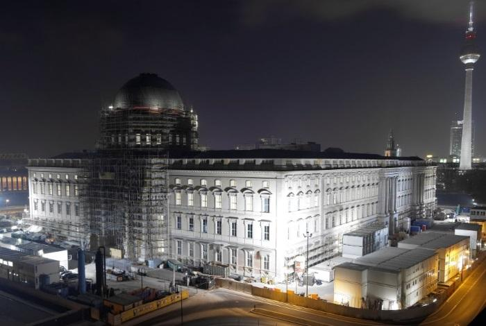 Реконструкция дворца в Берлине