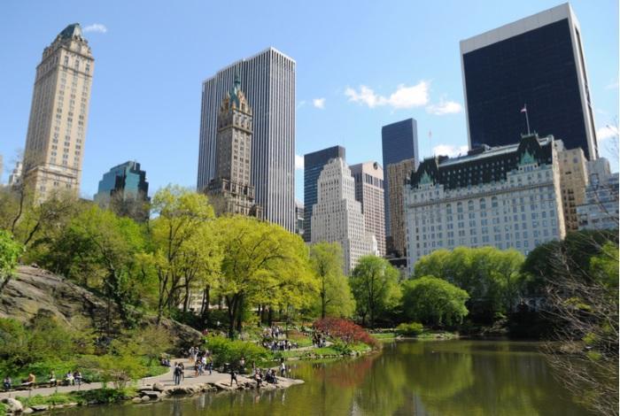 Самый известный парк Америки – Central Park в Нью-Йорке
