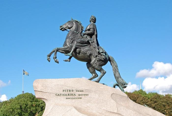 Скульптура Медного всадника
