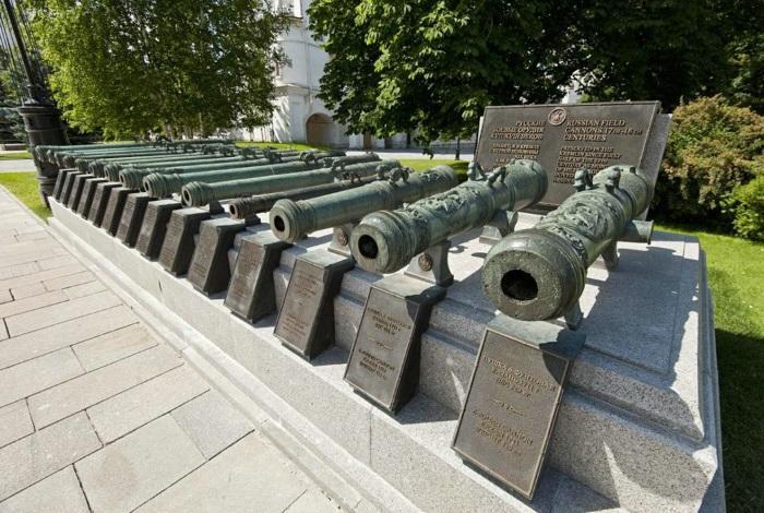 собранием артиллерии в России