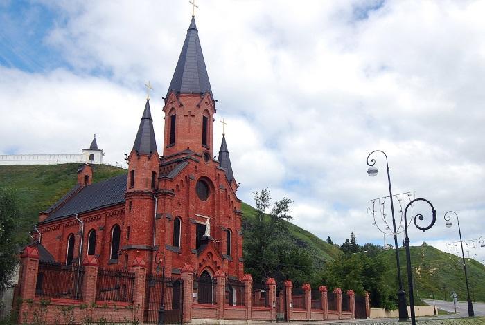 Польский костел в Тобольске