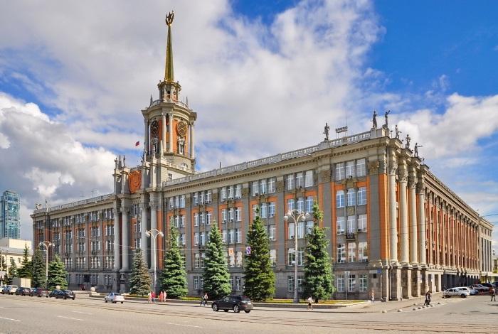 Здание Свердловского горсовета