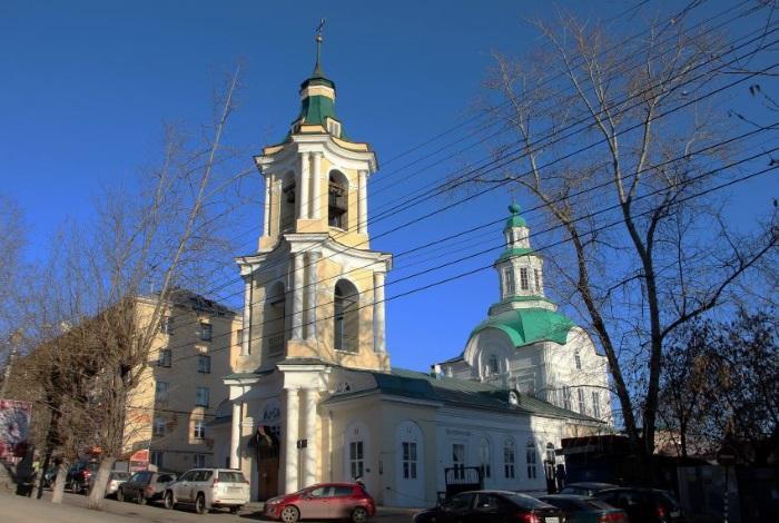 Церковь иконы Божией Матери «Знамение» киров
