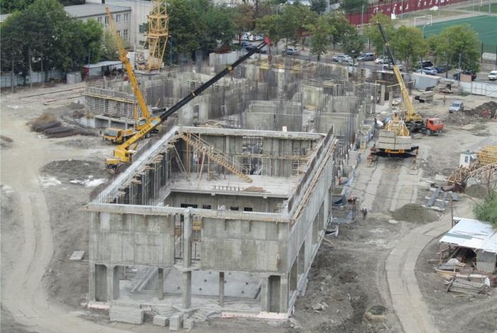 Строительство Орленка