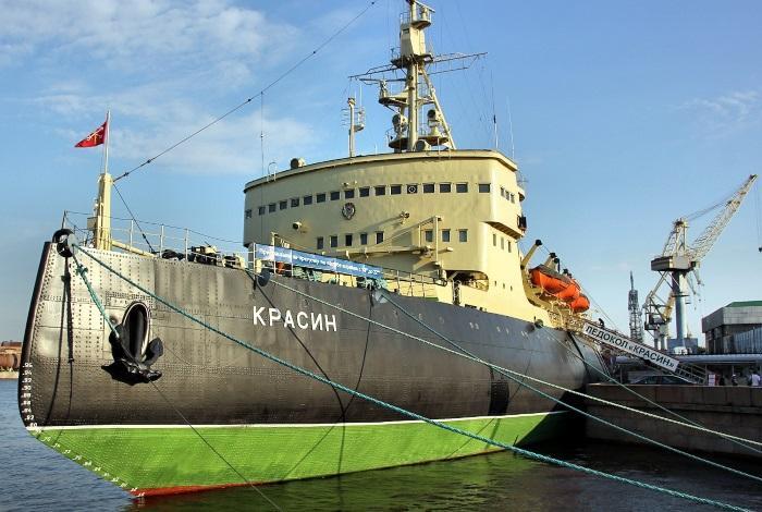 Ледокол Красин Санкт-Петербург