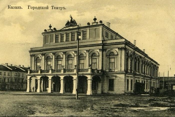 Казанский городской театр в середине XIX века