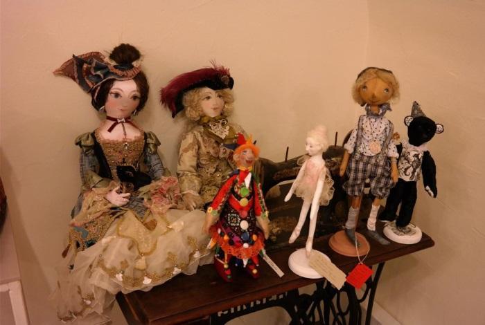 Галерея кукол Варвары Скрипкиной Санкт-Петербург