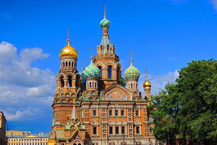 Храм Спас на Крови в городе Санкт-Петербург