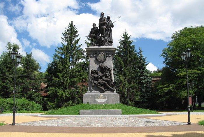 Памятник воинам Русской императорской армии