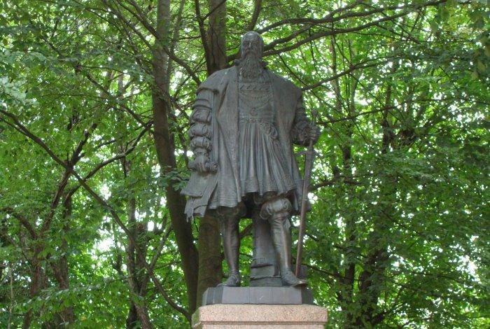 Памятник Альбрехту Бранденбургскому