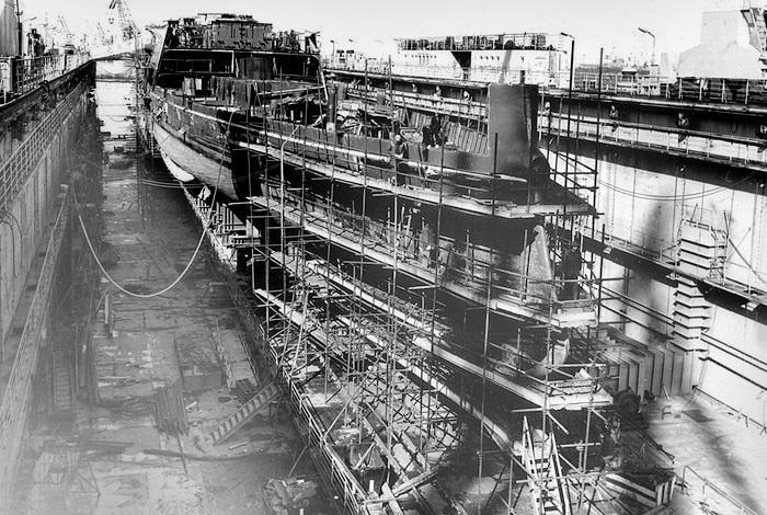 Строительство крейсера
