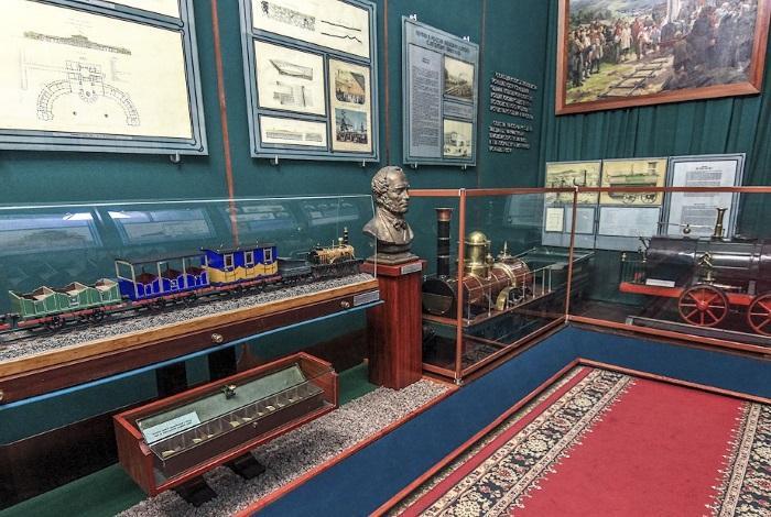 Центральный музей железнодорожного транспорта Российской Федерации Санкт-Петербург