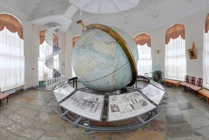 «В гости к большому Готторпскому глобусу»