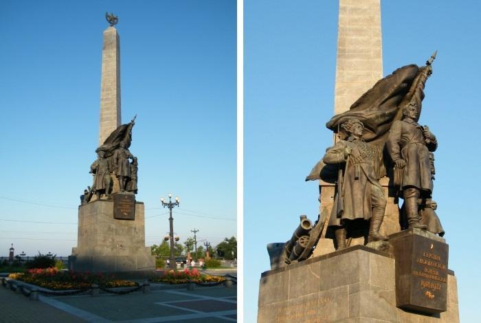 Памятник освободителям Дальнего Востока