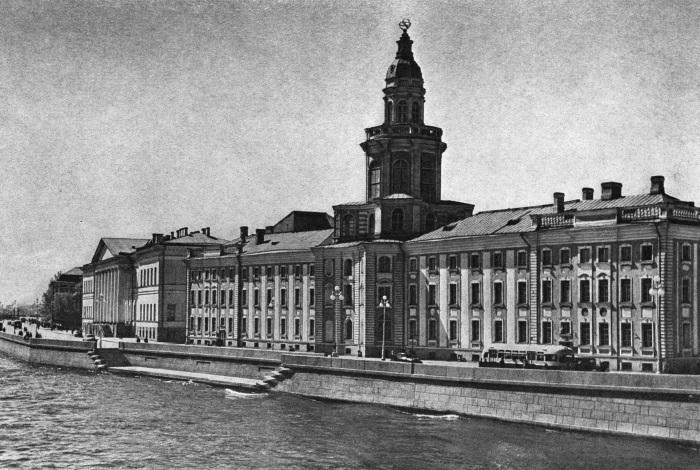 Здание Кунсткамеры