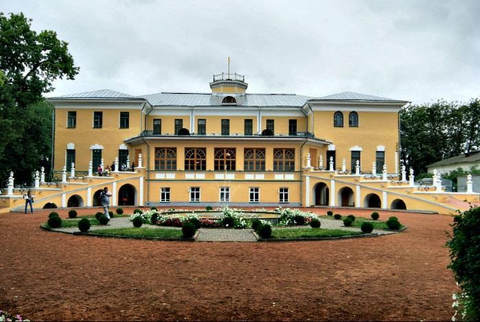 Губернский дом и сад