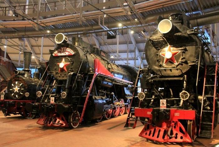 Музей железных дорог России Санкт-Петербург