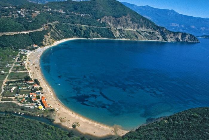 Черногория пляж Яз
