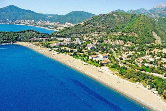 Пляж Черногории Бечичи