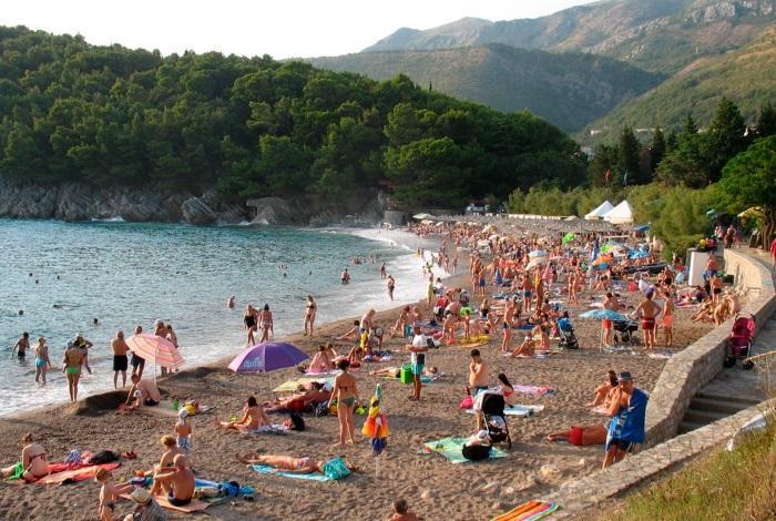 Пляж Черногории Лучице