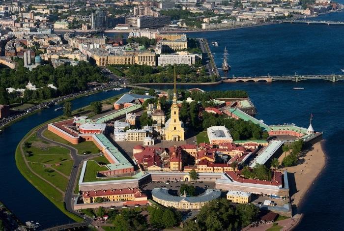 Петропавловская крепость Санкт-Петербург