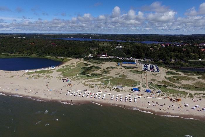 Янтарный пляж (Шахта Анна)
