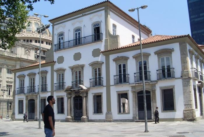 Императорский дворец в Рио-де-Жанейро