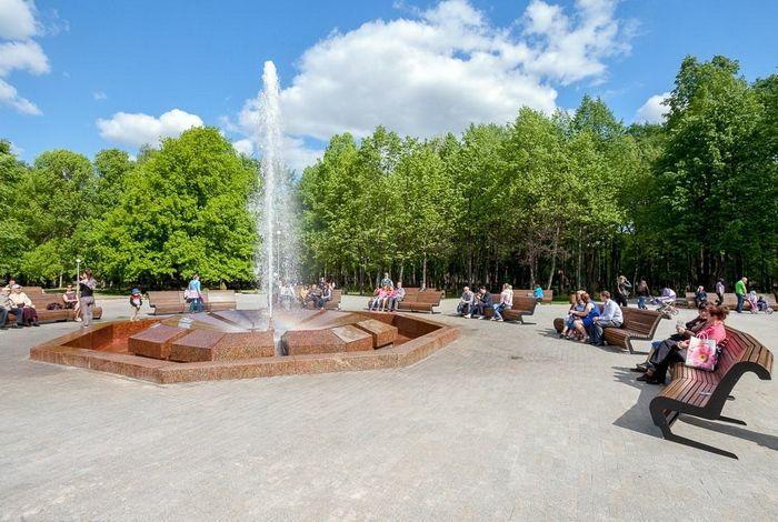 Муравьевский фонтан в Старой Руссе