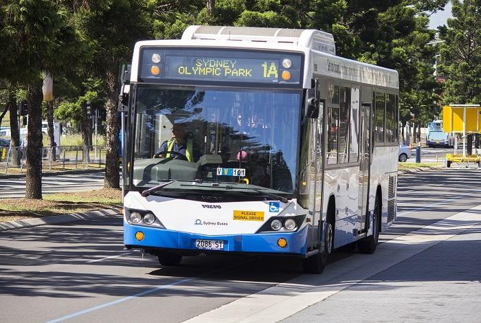 Автобус в Сиднее