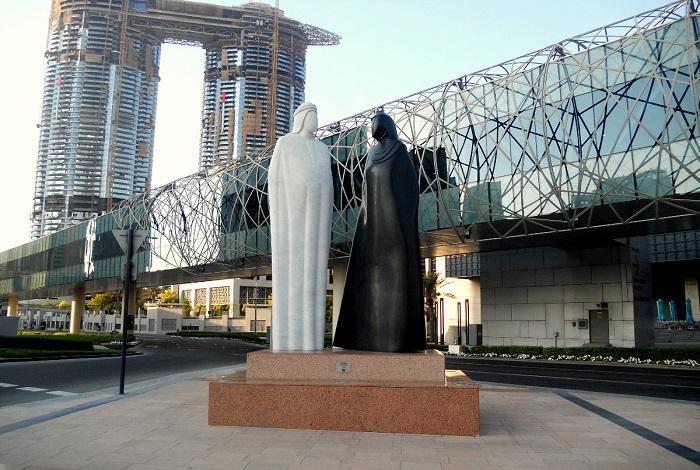 Скульптура «Вместе»