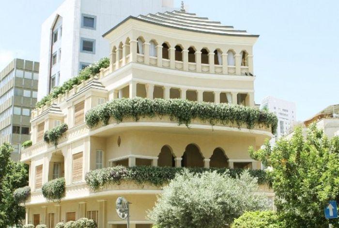 Дом-пагода в Тель-Авиве