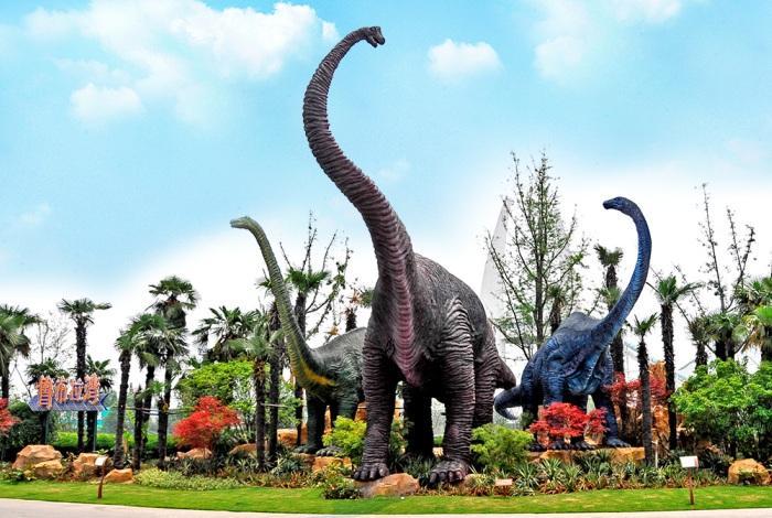 Парк динозавров в Чанчжоу