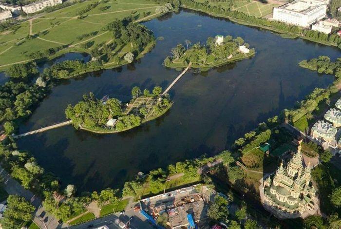 Острова Ольгиного пруда