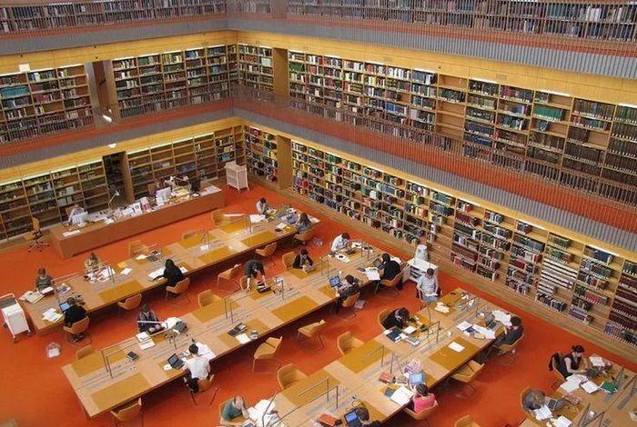 Берлинская государственная библиотека