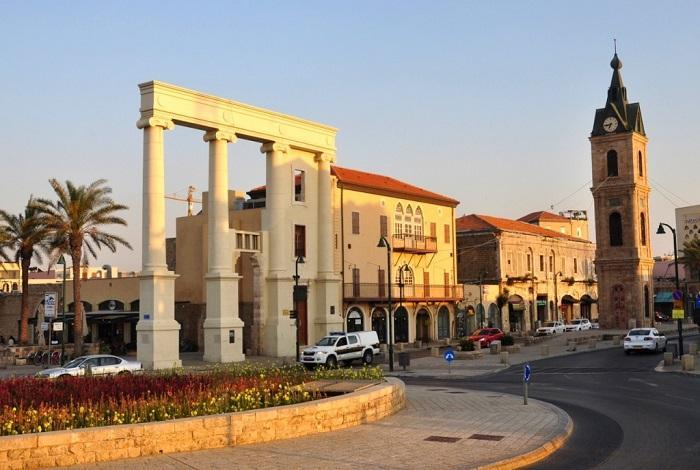 Часовая площадь в Старом Яффе