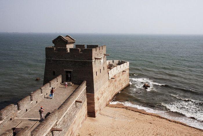 Бэйдайхэ. Конец Великой китайской стены