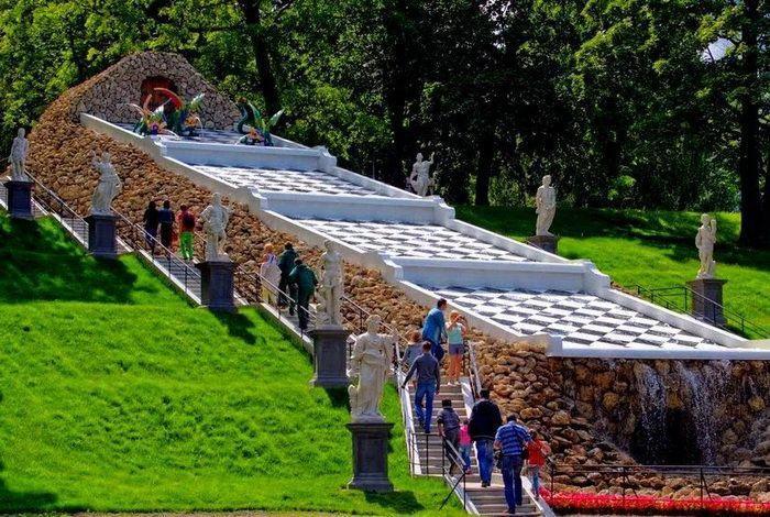 Каскад «Шахматная гора»