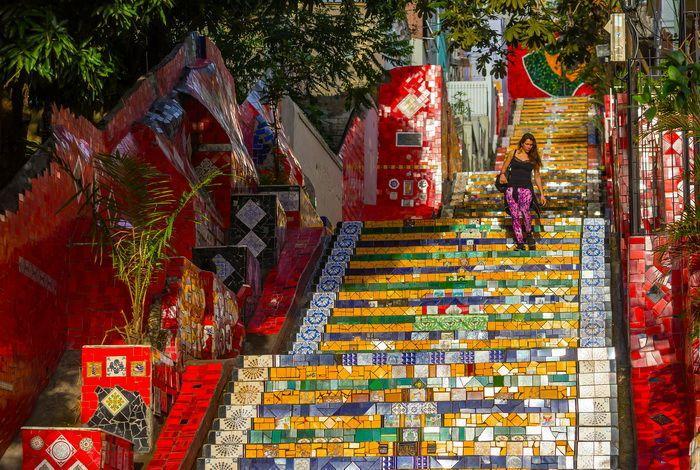 Мозаичная лестница Селарона