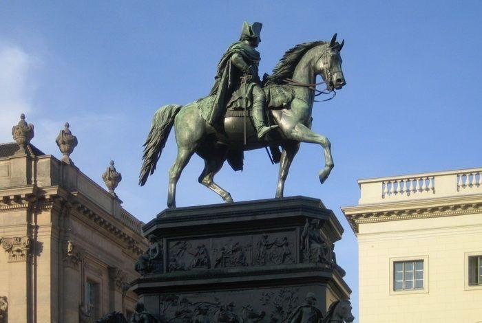 Статуя Фридриха Великого