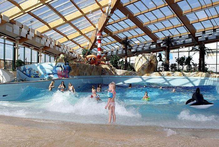 Пражский аквапарк AquaPalace
