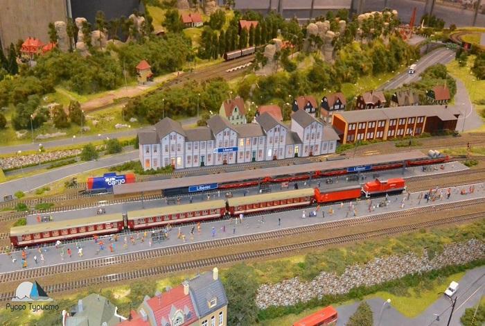 Интерактивная модель железнодорожного транспорта.