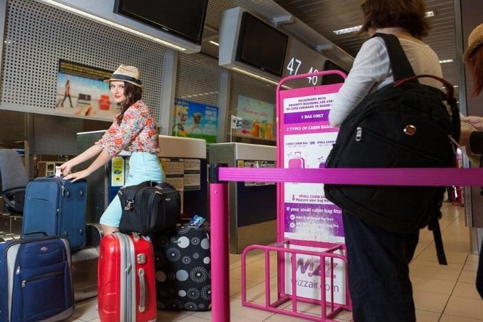 Прохождение регистрации на рейс Wizz air